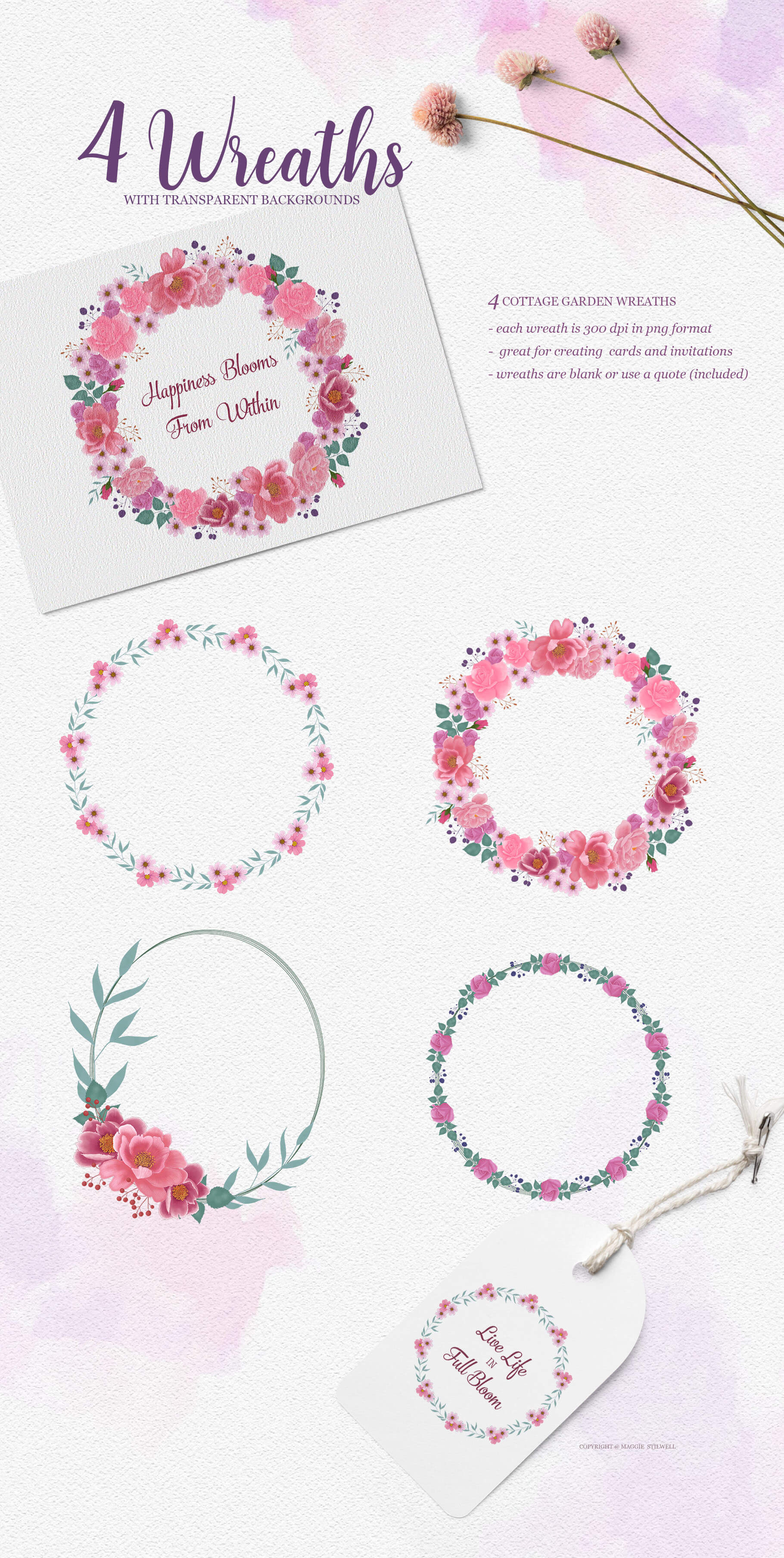 Country Garden Wreaths