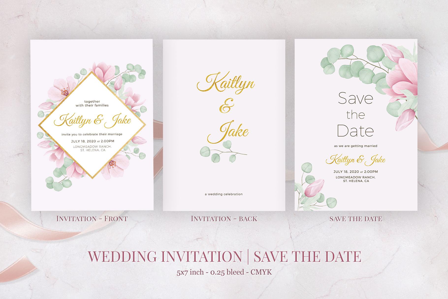 Magnolia & Eucalyptus Wedding Suite