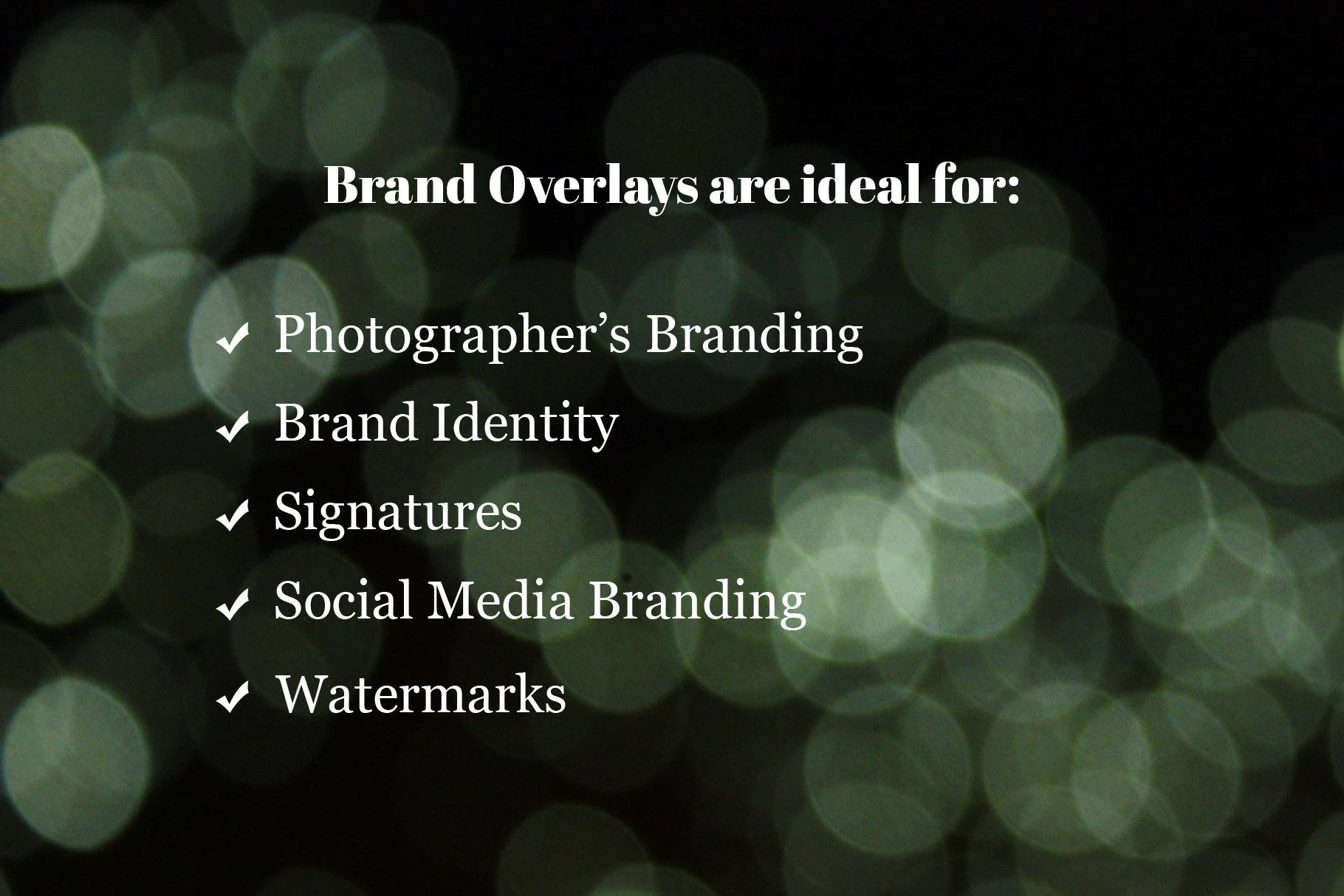 Brand Overlays