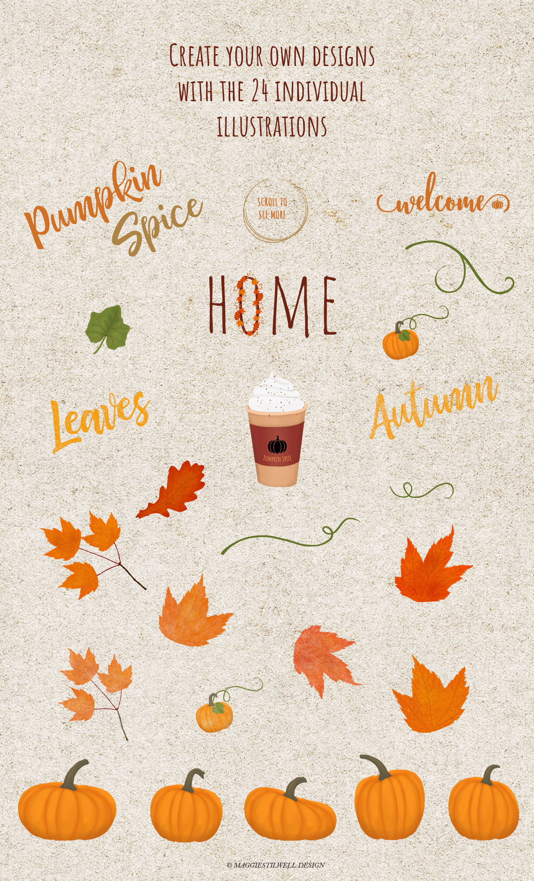 Autumn Printables & Illustrations