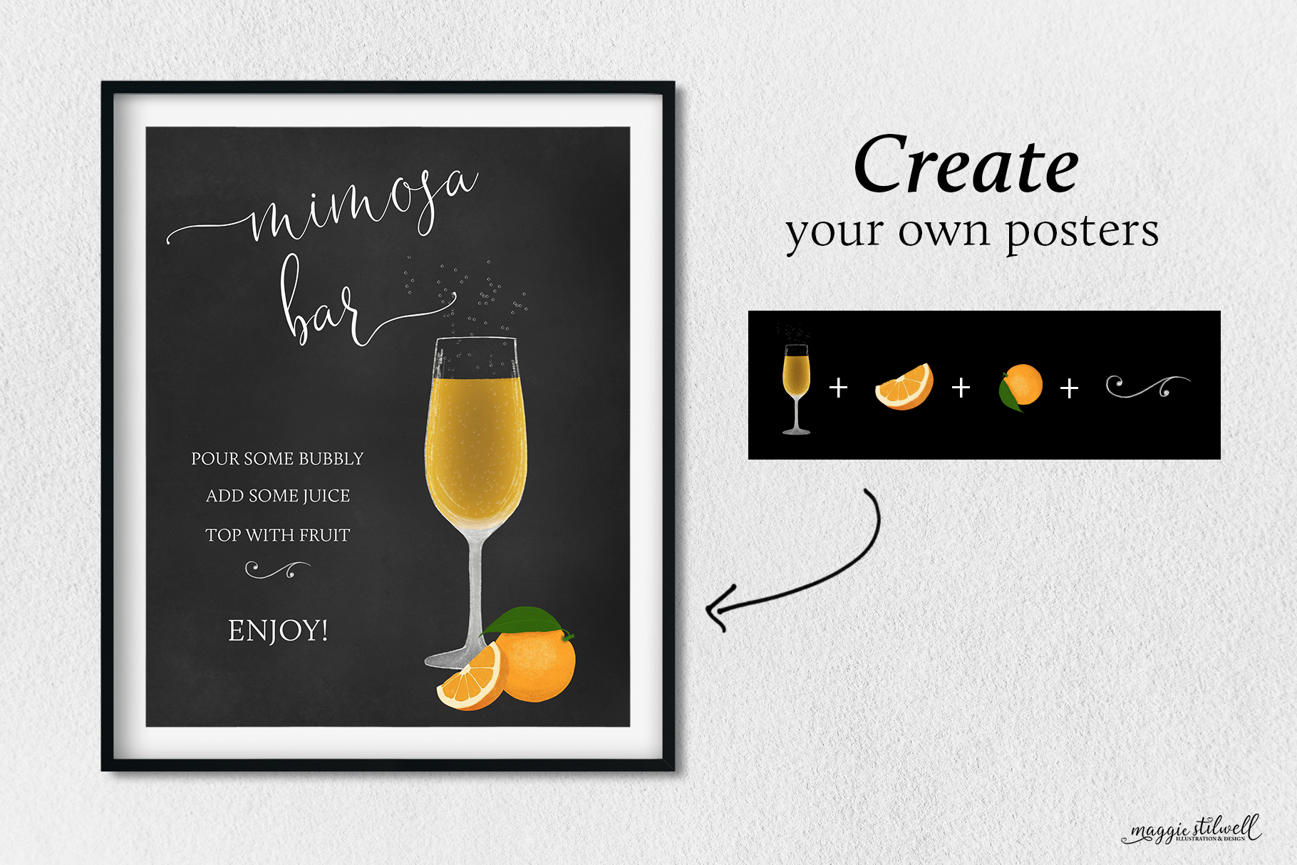 Cocktail Posters & Illustrations