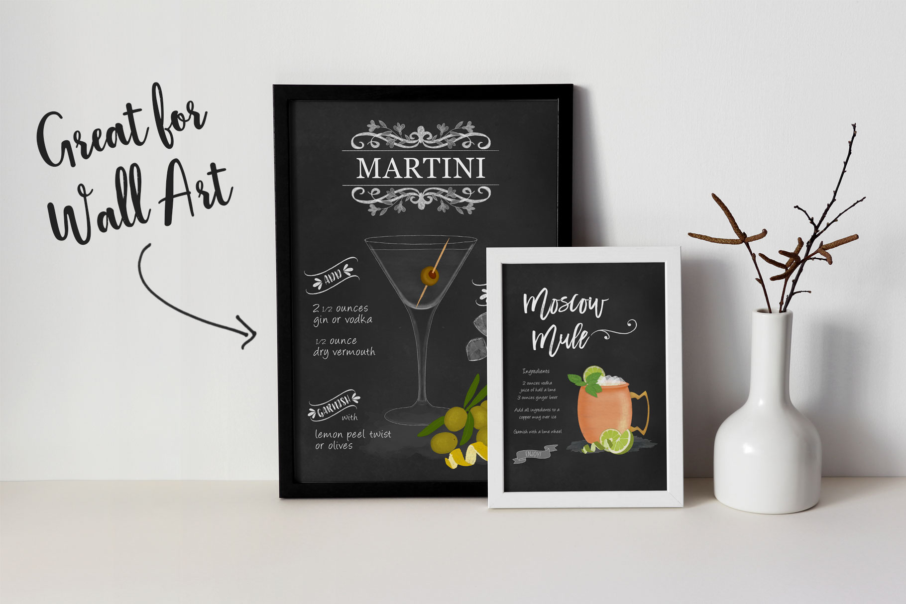 Cocktail Illustrations & Posters