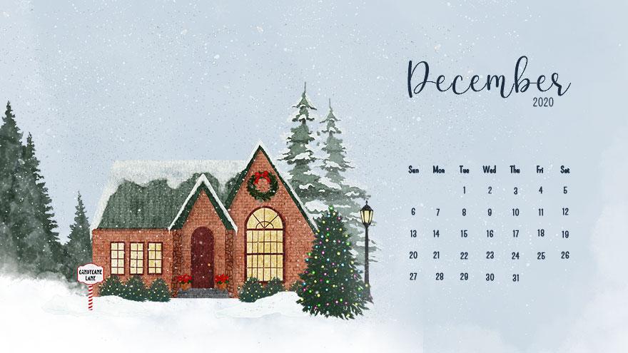December, 2020 Calendar