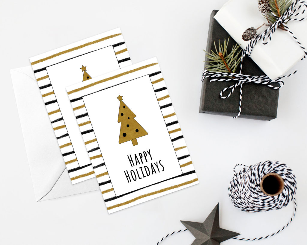 """Happy Holidays"" Printable"
