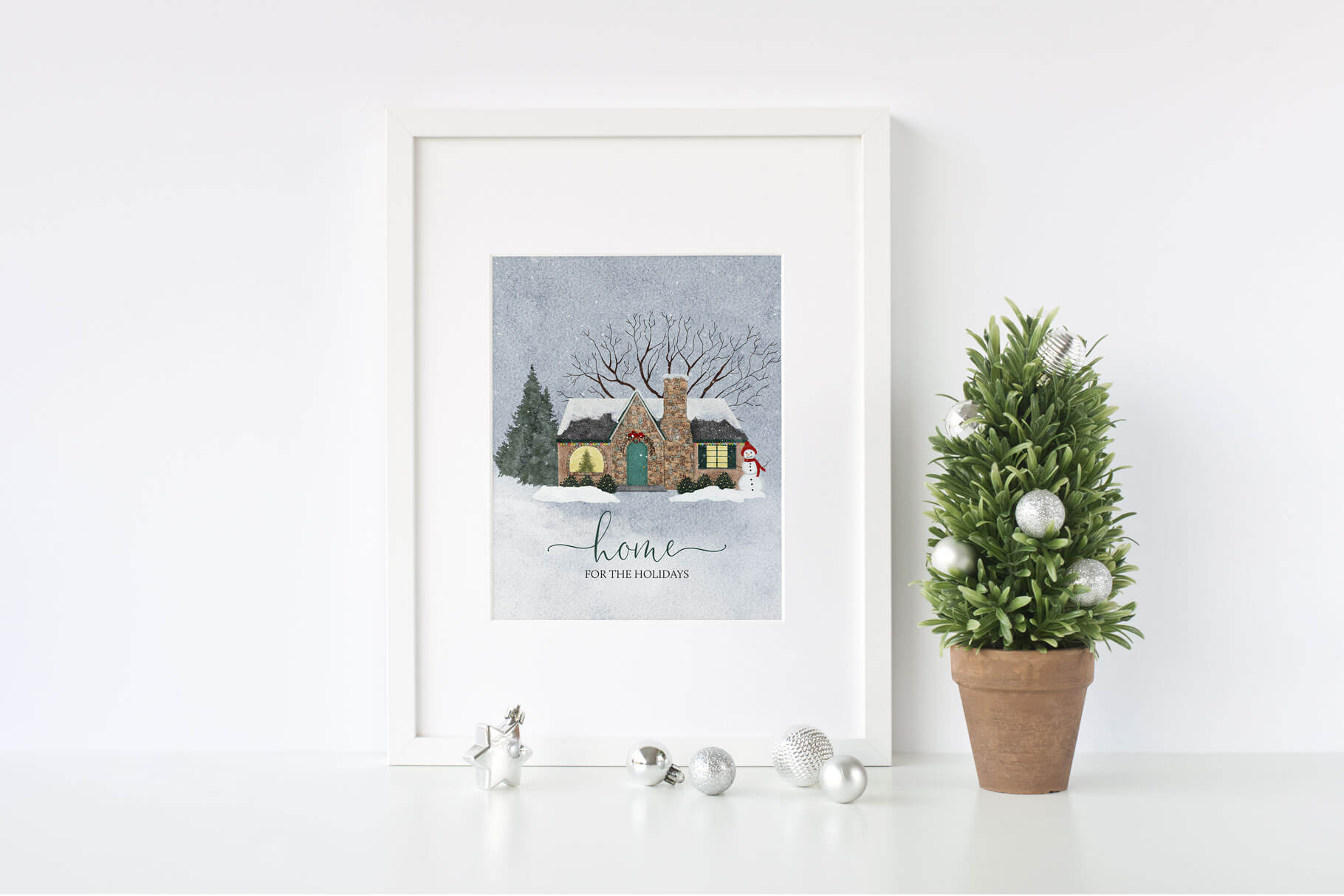"""Home for the Holidays"" printable"