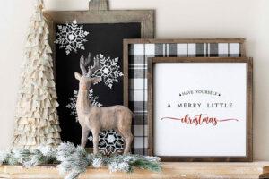 """Merry Little Christmas"" printable"