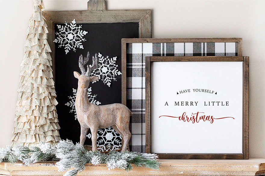 """Merry Little Christmas"" printable"