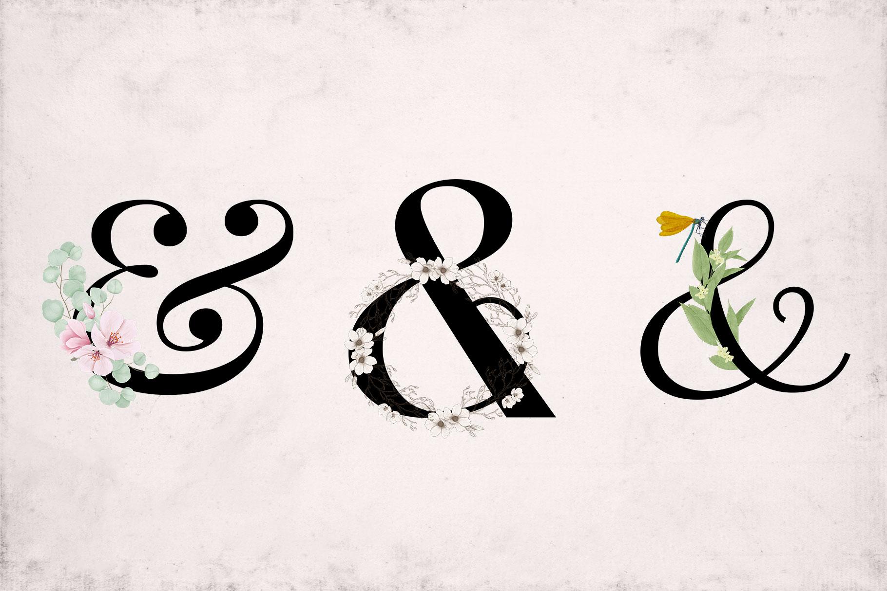 Ornate Ampersands